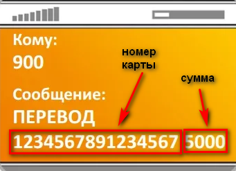 Как перевести на карту Сбербанка через телефон