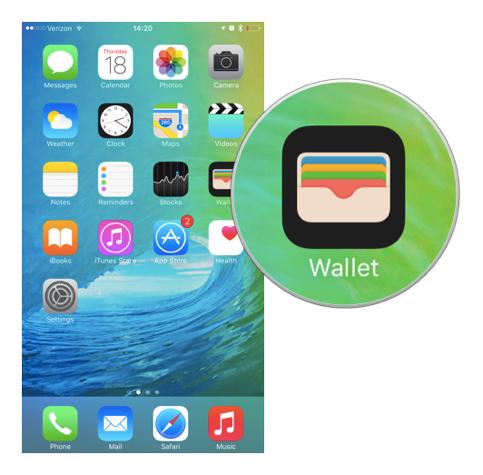 Приложение Wallet